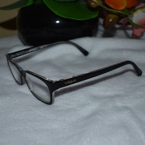 Vogue Rx Glasses  Black/Clear Frame Color Combo